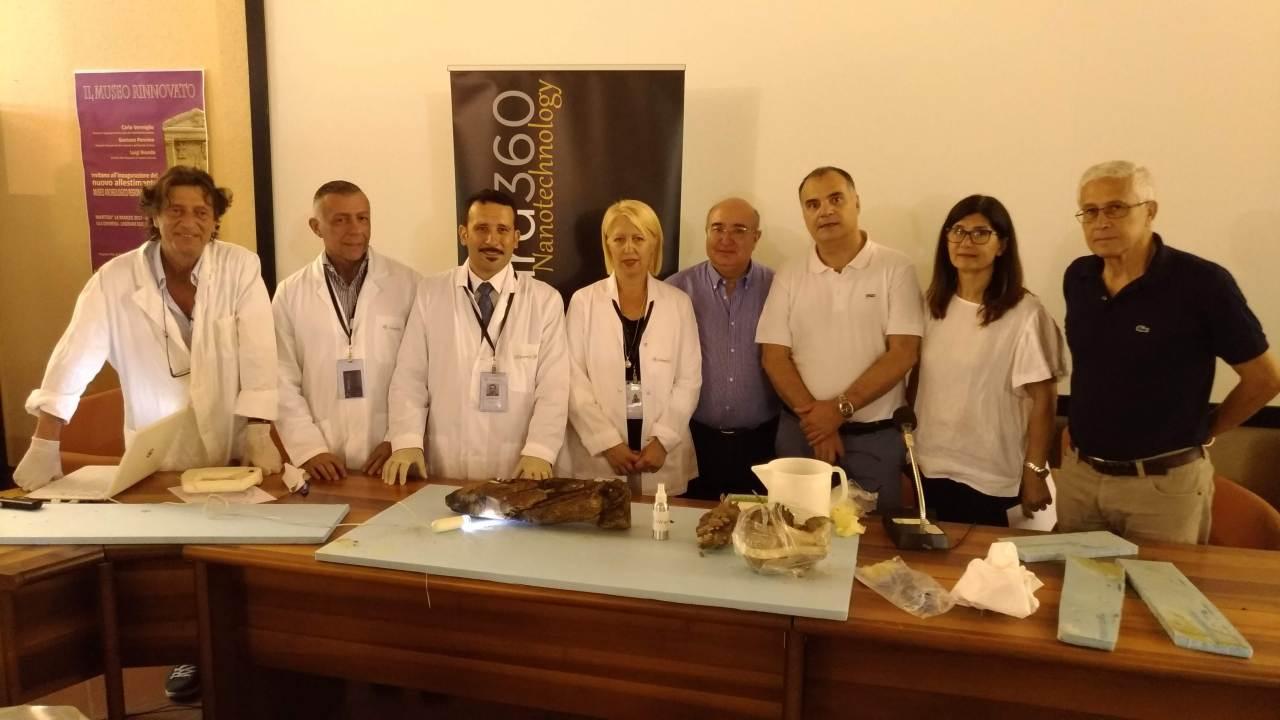 Sicilia, primo intervento con nanotecnologie sui beni sommersi di epocaromana