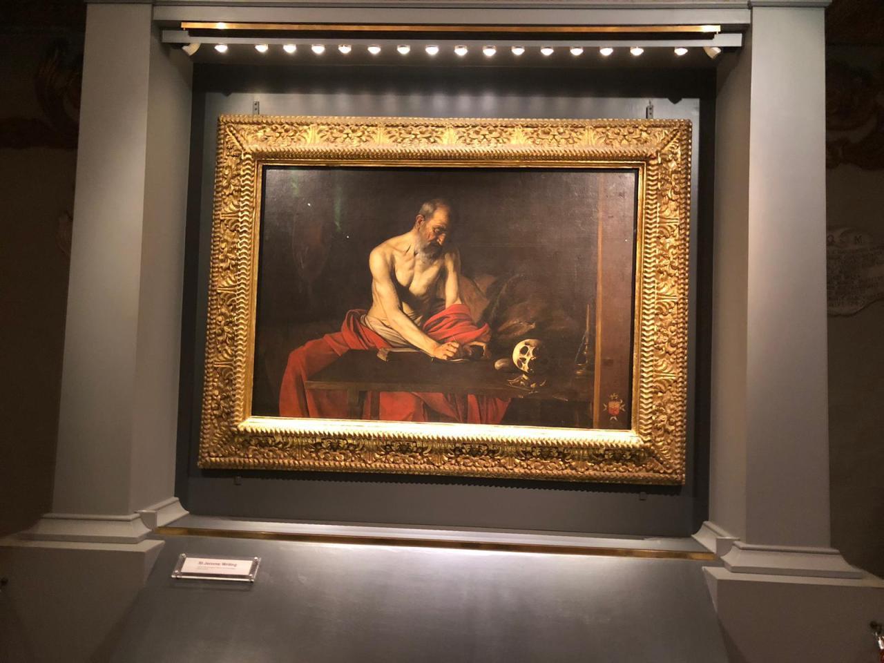 Cappella di Caravaggio nella Cattedrale di San Giovanni – Malta – LaValletta.